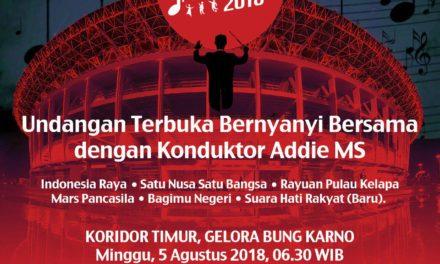 HARMONI INDONESIA 2018 – 5th August @ KBRI – Undangan Terbuka Bernyanyi Bersama…