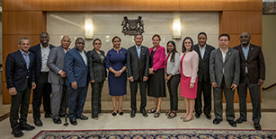 Visit to Singapore under the 9th Forum of Small States Fellowship Programme by Permanent Representatives to the United Nations, 13 to 17 January 2020
