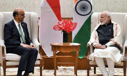 PMO Press Statement: SM Tharman Shanmugaratnam to visit India (Jan 2020)
