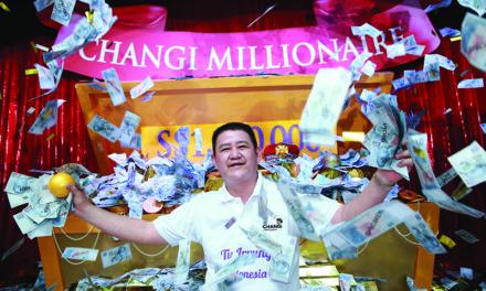 Indonesian Wins Changi Millionaire Prize!